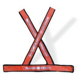 Colete Sinalização Refletivo X Laranja - Plastcor