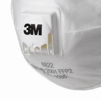 Mascara Respirador PFF2 com Válvula 8822 - 3M
