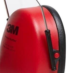 Protetor Auricular Abafador tipo Concha Pomp Muffler - 3M