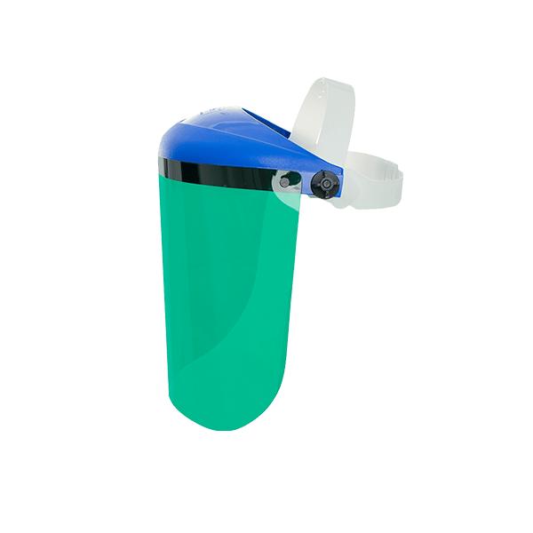 EPI - Protetor Facial PRO VISION 10″ CS Verde Pro Safety - Loja online 2d2e4ed126