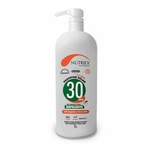 Protetor Solar FPS 30 com repelente 1 Litros Nutirex