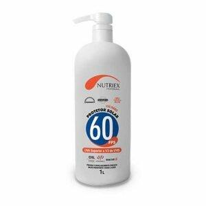 Protetor Solar FPS 60 1 Litros Nutirex