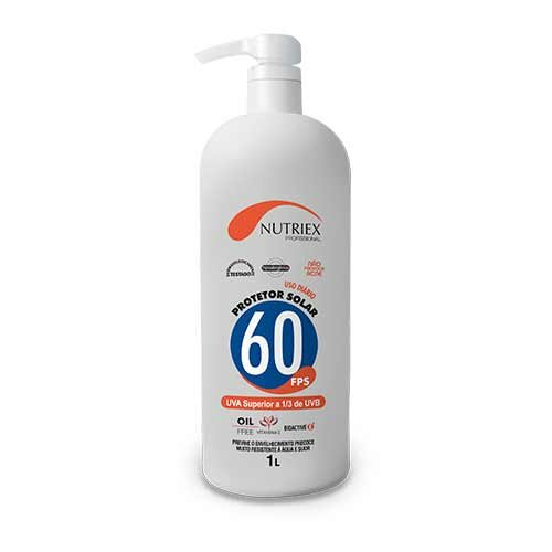 1da921b86f0c7 EPI - Protetor Solar 1 litro FPS 60 Nutriex - SafetyTrab - Loja online