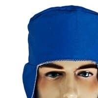 Touca de Soldador Azul - Brim