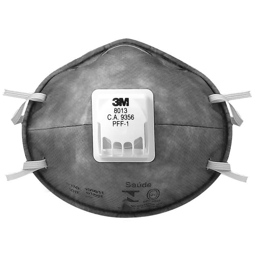 Máscara 3M 8013 Proteção Respiratória PFF1 com Válvula CA 9356 f496086878