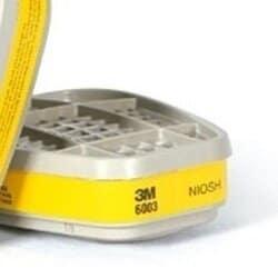 Filtro Químico Cartucho para Respirador VO GA 6003 - 3M
