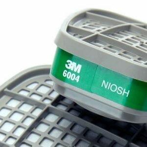 Filtro Químico Cartucho para Respirador Amônia e Metilamina 6004 - 3M