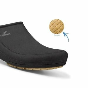 Sapato Ocupacional Antiderrapante Fujiwara Moov Preto