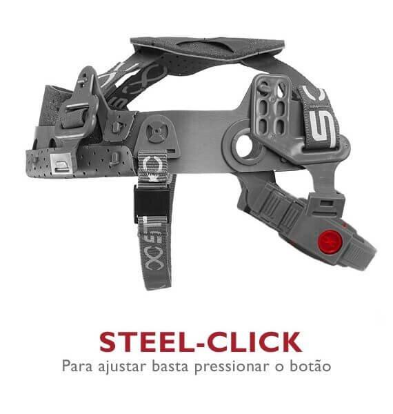 Capacete de Segurança STEELFLEX TURTLE com Jugular e Botao 2