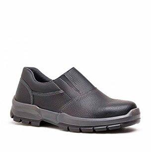 Sapato de Segurança de Elástico com Bico de PVC Fujiwara