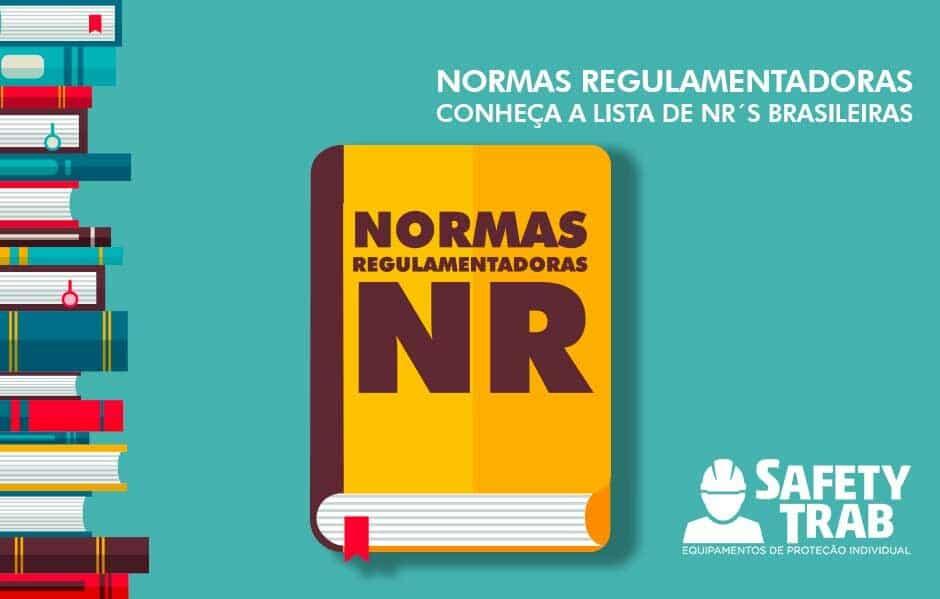 blog,Segurança do Trabalho · Normas regulamentadoras  Conheça a lista das  NRs brasileiras dbaf9a03e3
