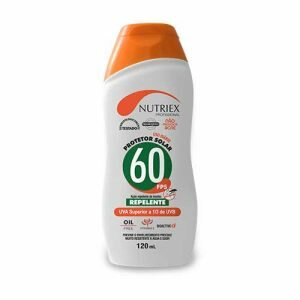 Protetor Solar FPS 60 com repelente 120ml Nutirex