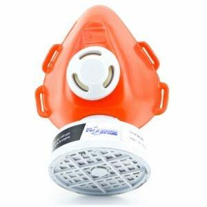Respirador Tipo Peça Semi Facial Para 1 Filtro Plastcor CA 39427